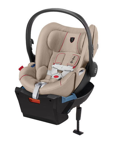 Cloud Q Ferrari Car Seat  Silver Grey