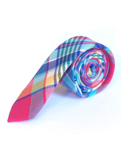 Boys' Plaid Tie
