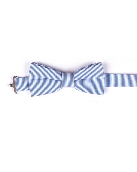 Boys' Twill Striped Bow Tie