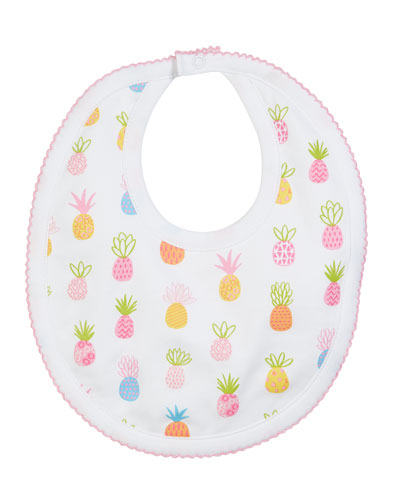 Pineapples Pima Bib