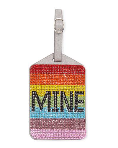 Kids' Rainbow Crystal Mine Luggage Tag