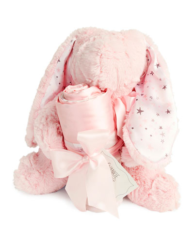 Sweet Dreams Bunny & Blanket Gift Set