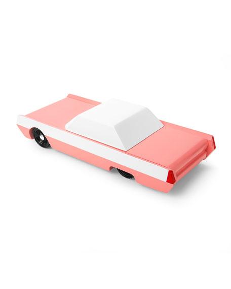 Pink Flowmingo Toy Car