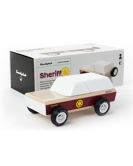 Lone Sheriff Police Car Toy