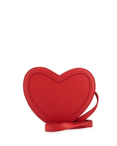 eb609195e Kids' Heart-Shaped Faux Leather Crossbody Bag Quick Look. Molo