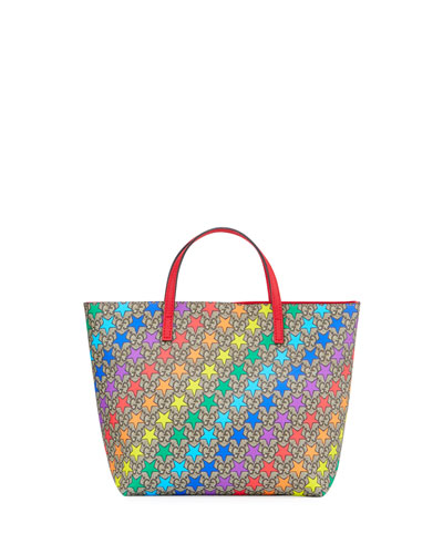 Kids' Rainbow Star GG Supreme Tote Bag