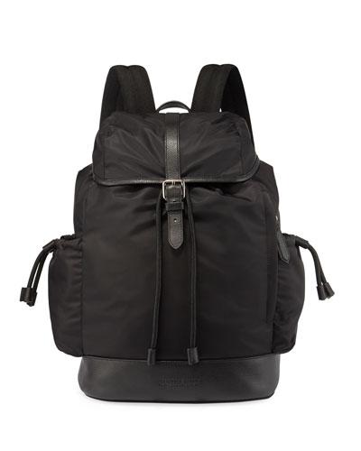 Watson Nylon Backpack Diaper Bag