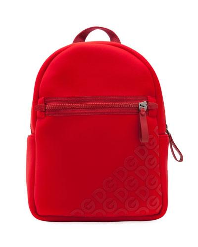 Kid's Stamped Logo Neoprene Backpack
