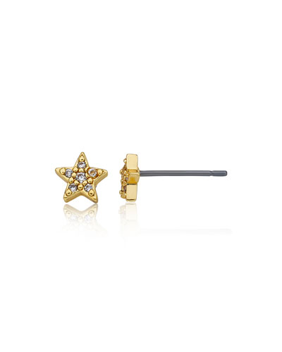 Girls' Star Stud Earrings (Hypoallergenic)