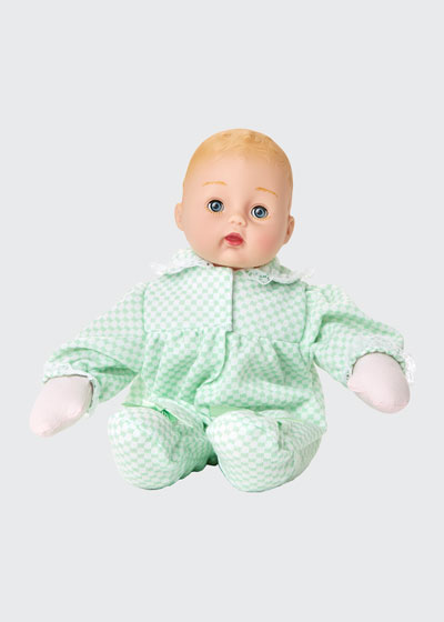 Mint Check Huggums Doll  12