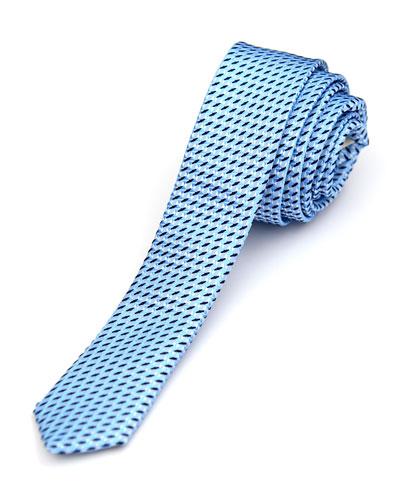Boys' Geo Jacquard Tie