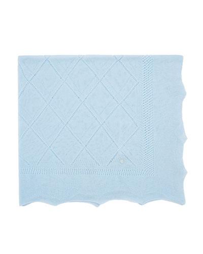 Lightweight Knit Baby Blanket