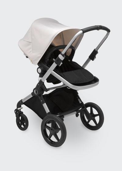 Lynx Complete Stroller, Black/Fresh White
