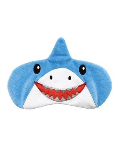 Kid's Shark Fleece Eye Mask