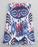 Ikat A-line Dress