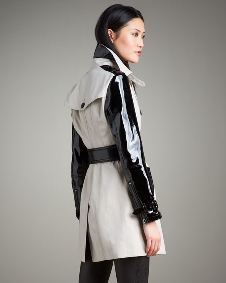 Patent-Sleeve Trenchcoat