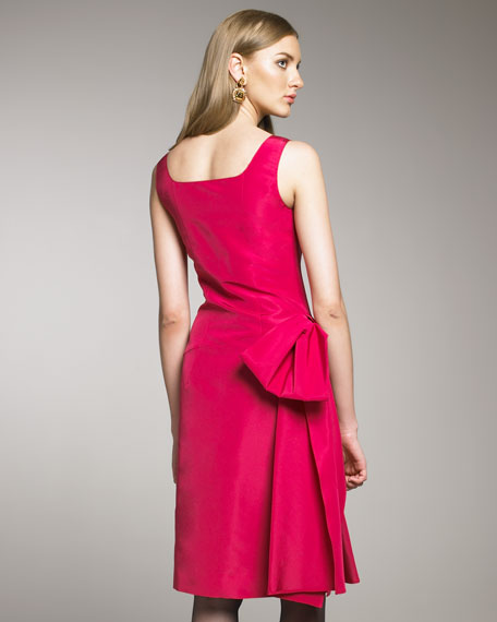 Side-Bow Cocktail Dress