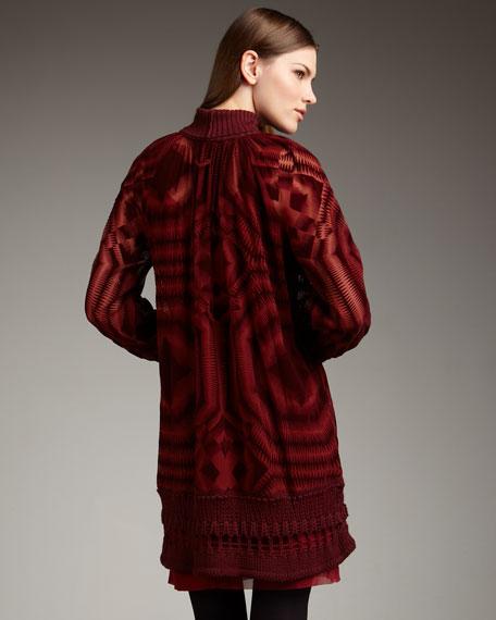 Silk Devore Tunic