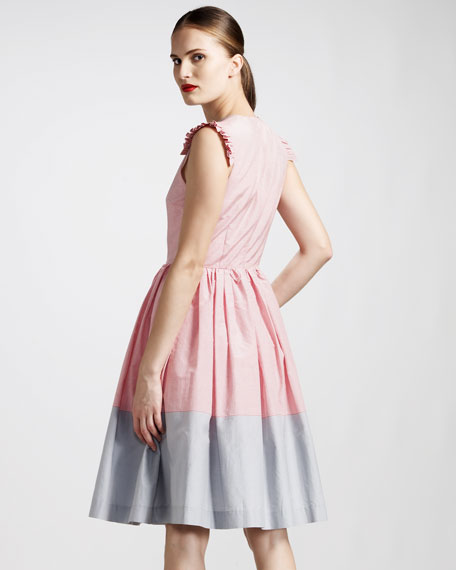 Rosa Pintuck Dress