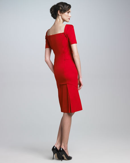 Square-Neck Dress