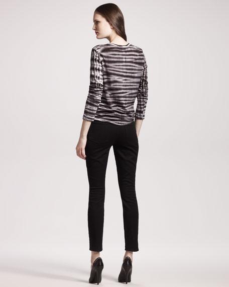 High-Waisted Skinny Jeans