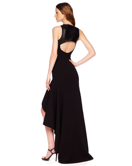High-Low Hemline Gown