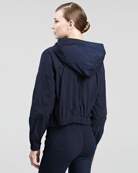 Hooded Taffeta Jacket
