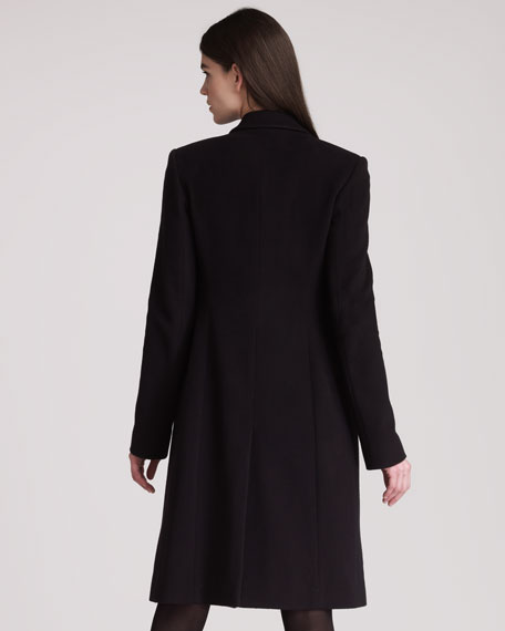 Wool Cashmere Long Coat