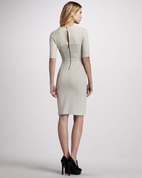 Keyhole-Back Dress