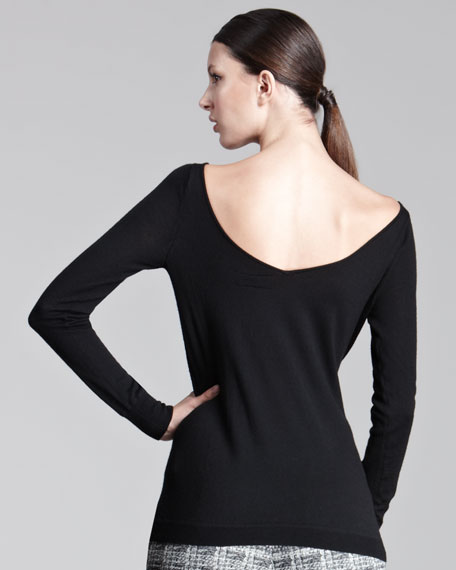 V-Back Sweater