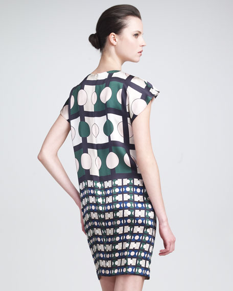 Deco-Print Dress
