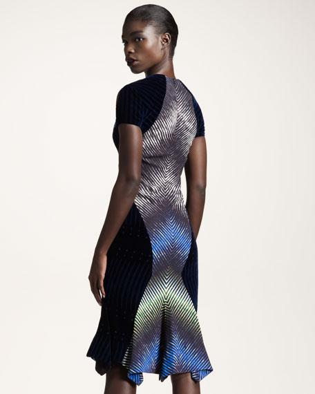 Velvet Cutout Dress