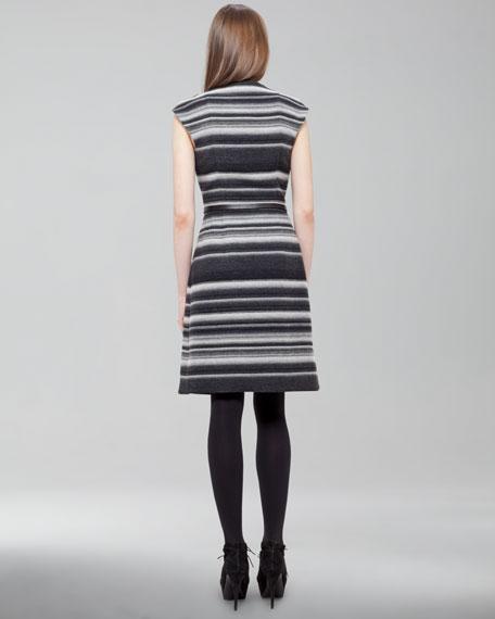Striped Wool Dress