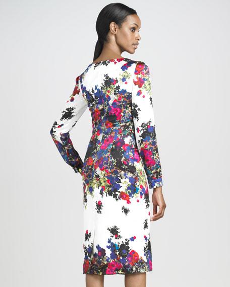 Irene Silk Satin Dress