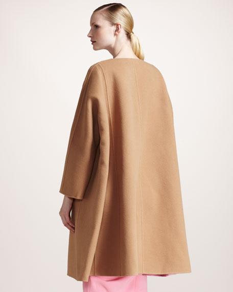 Colorblock Double-Face Coat