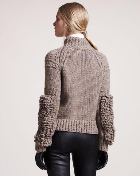 Ilford Moto-Texture Cashmere Sweater
