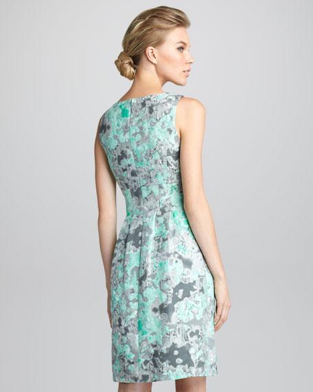 Classic Jacquard Dress