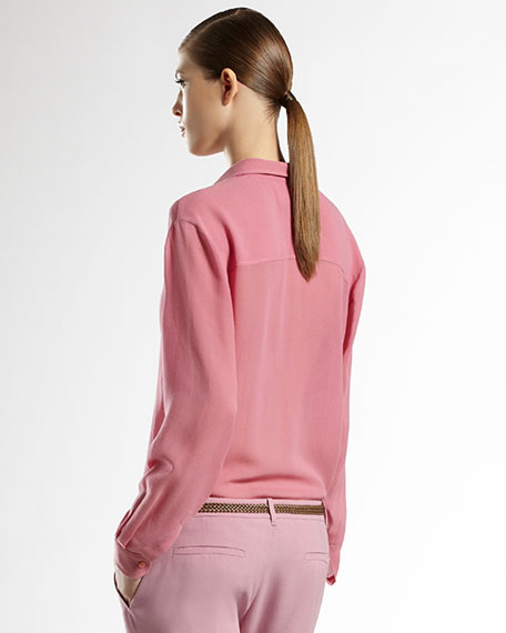 Gauze Menswear-Inspired Shirt