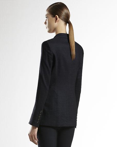 Flora-Lined Stretch Jacket