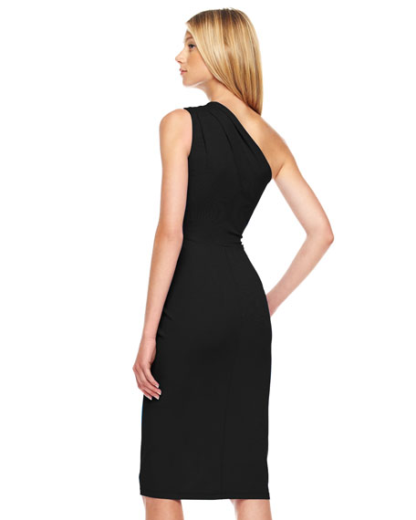 One-Shoulder Jersey Dress