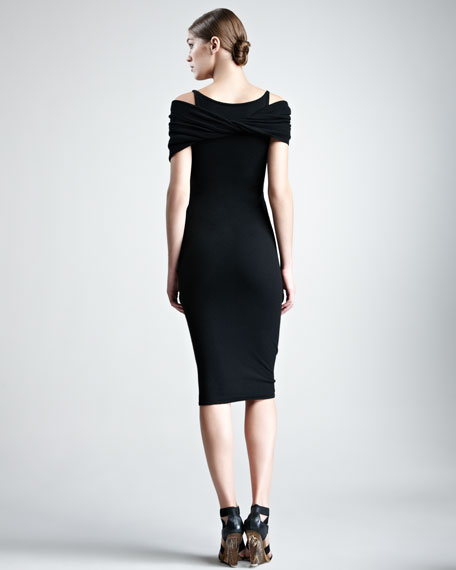 Stretch-Cashmere Dress
