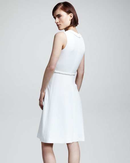 Braid-Trim Cady Dress