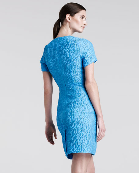Helen Jacquard Sheath Dress