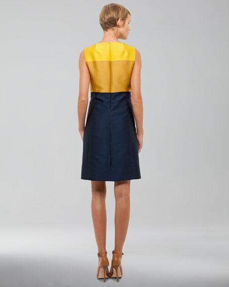 Duchesse Colorblock Dress
