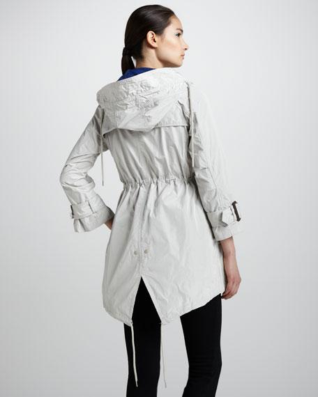 Taffeta Nylon Parka Jacket