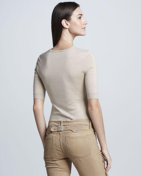 Cashmere-Silk Top