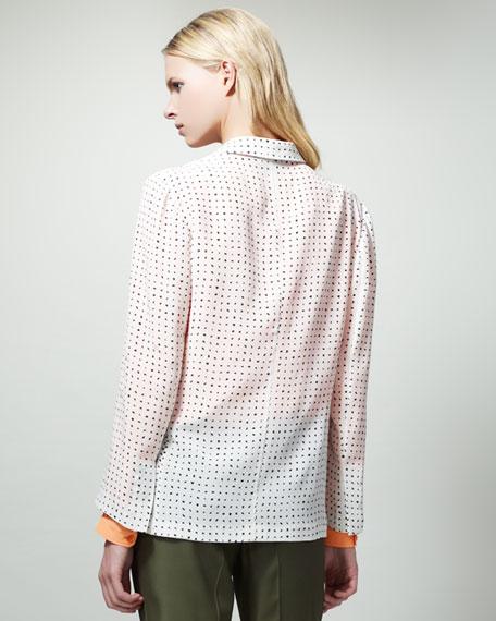 Dot-Print Jacket