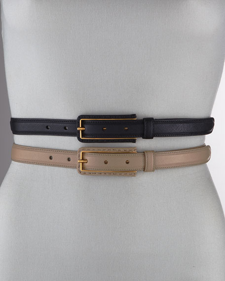 2cm Classic Dress Belt