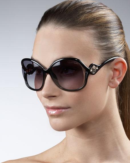Open-Temple Sunglasses