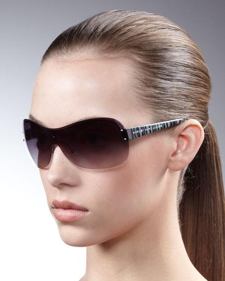 Rimless Shield Sunglasses